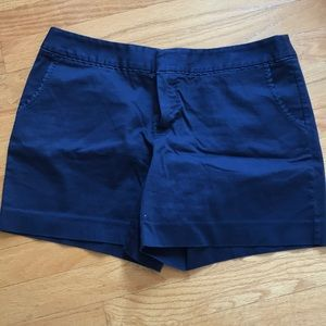 Women's Navy Shorts